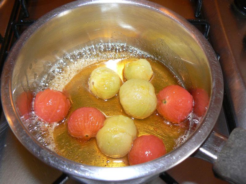 Feuilletes de feta et tomates cerises au miel etape10