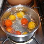 Feuilletes de feta et tomates cerises au miel etape8