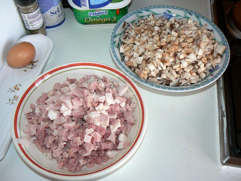 Roules de jambon etape1