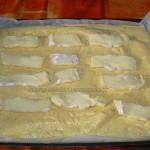 Omelette roulee au jambon et camembert etape5