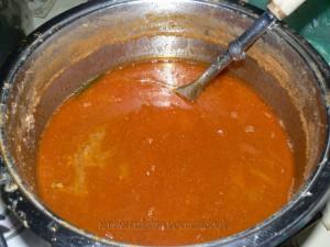 Soupe de poisson d'une marseillaise etape1