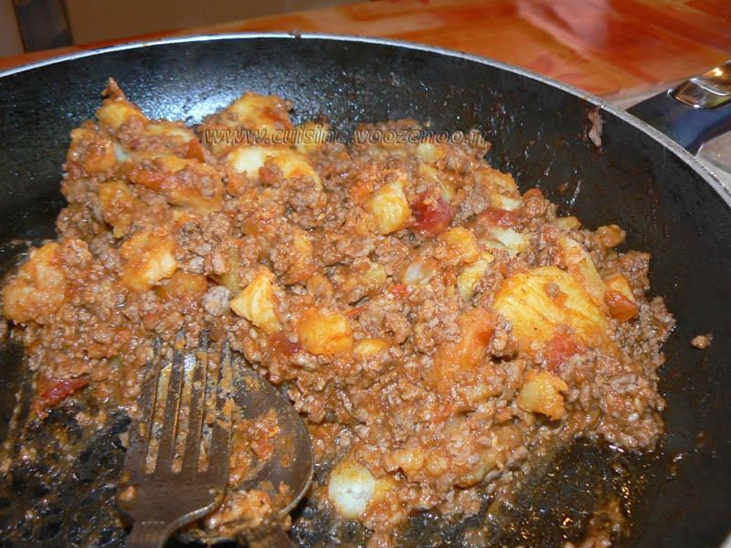 Brick a la viande sauce tomates cerises sesame etape4