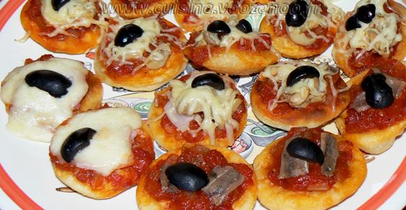 Pizzas frites ou Pizze fritte