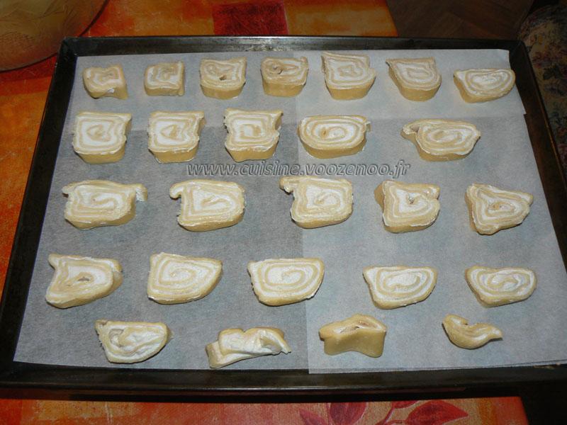 Roules feuilletes au chevre et miel etape4