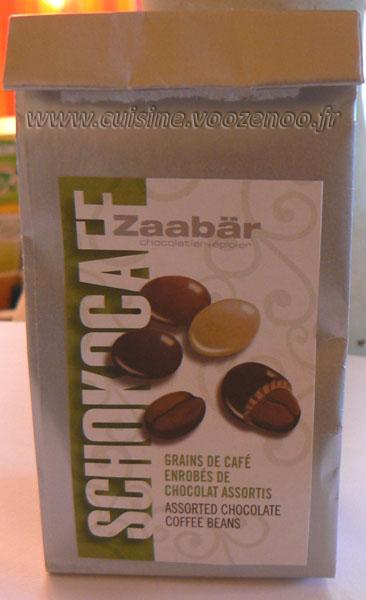 Cookies aux grains de cafe enrobes au chocolat etape2