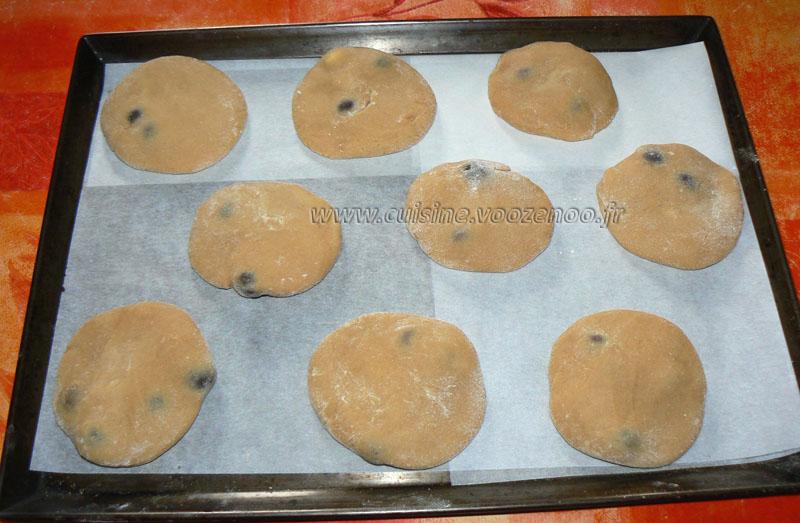 Cookies aux grains de cafe enrobes au chocolat etape4