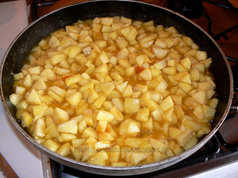 Tourte aux pommes glacee etape2