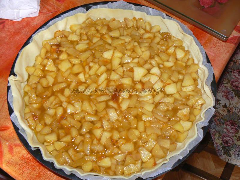 Tourte aux pommes glacee etape3