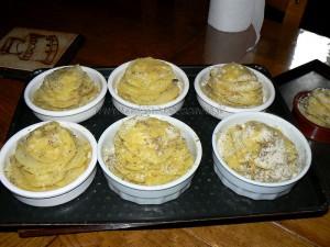 Millefeuilles de pommes de terre fin