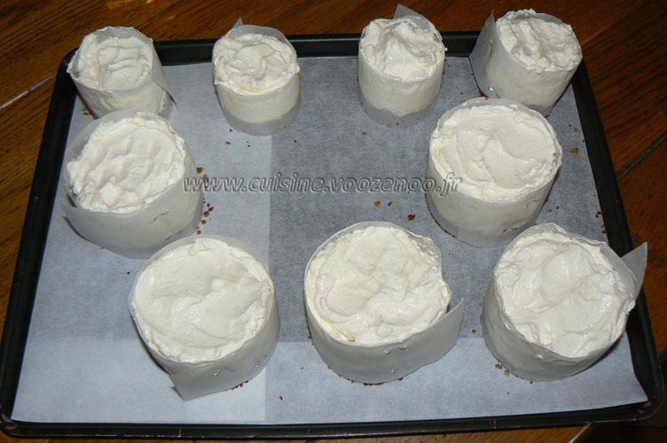 Cheesecake sans cuisson fin