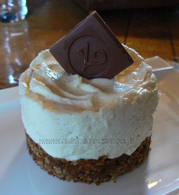 Cheesecake sans cuisson presentation