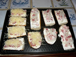 Tartines version flammekuche etape3