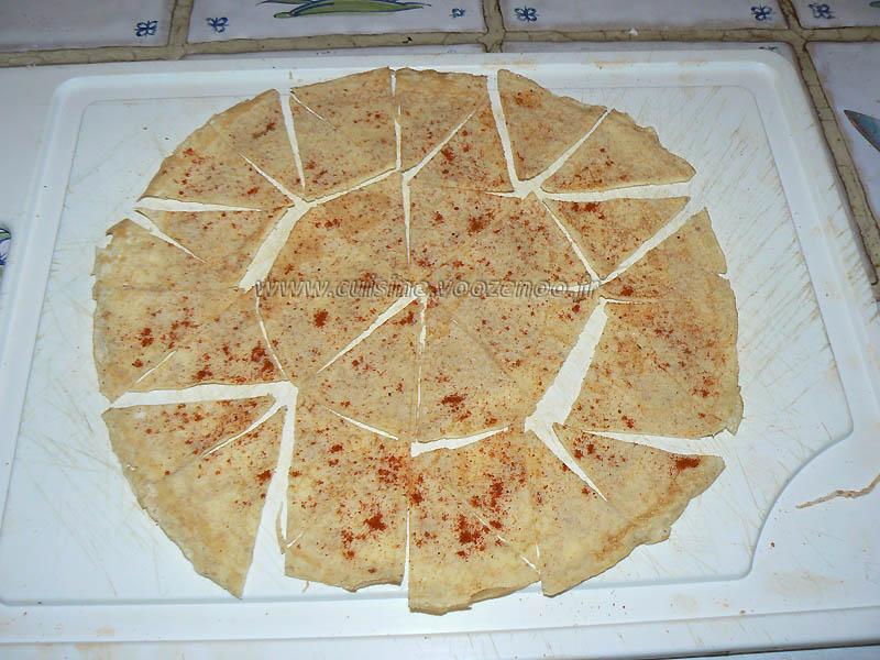 Chips de tortillas light etape3
