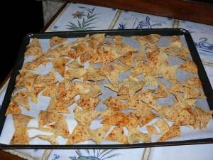 Chips de tortillas light fin