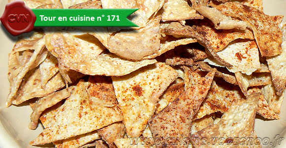 Chips de tortillas light une