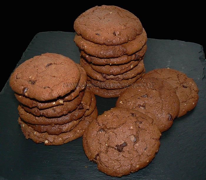 Cookies au nutella presentation