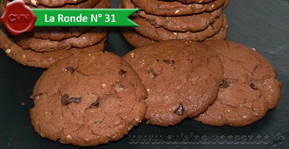 Cookies au nutella une
