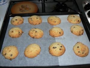 Cookies au chocolat et coco etape3
