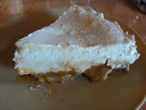 Banoffee pie presentation