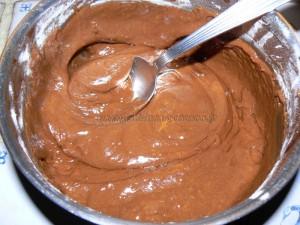 """Whoopies """"araignees"""" au chocolat etape1"""