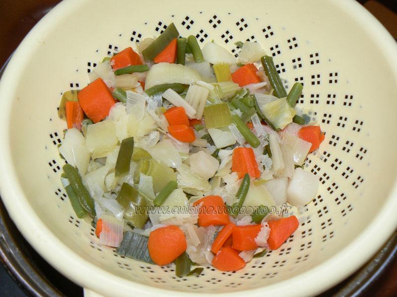 Tarte aux légumes etape1