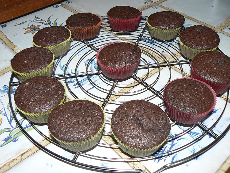 Cupcakes tout oeros etape4