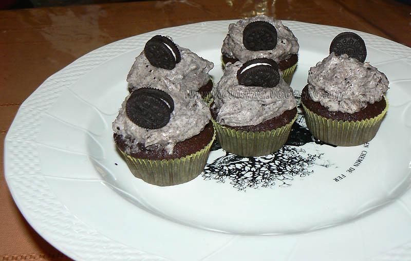 Cupcakes tout oeros fin