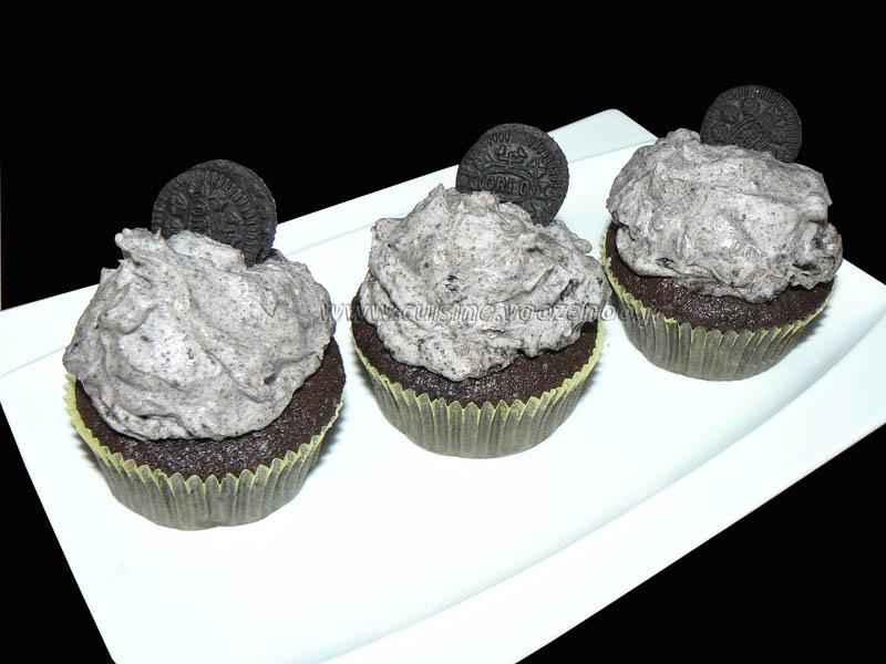 Cupcakes tout oeros presentation
