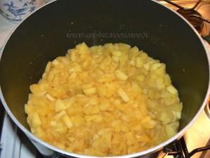 Flan brioché aux pommes etape1