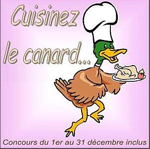 """Chez """"La serviette sur le table"""", concours de recettes """"Cuisinez le canard"""""""