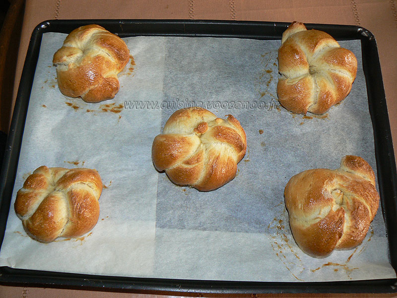 Petits pains  à la semoule etape5