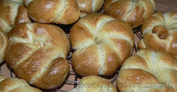 Petits pains à la semoule une