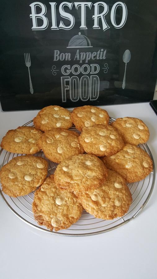 cookies chocolat blanc de Petit Bonhium