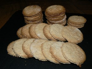 Graham crackers revisites de Milounette presentation