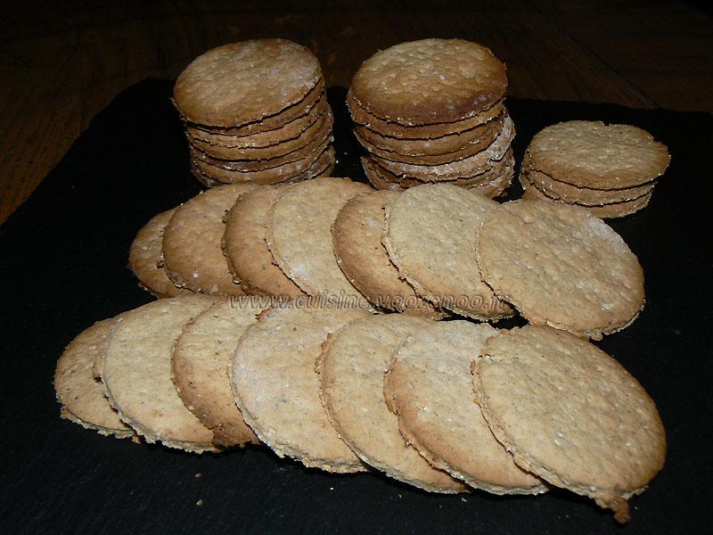 Graham crackers revisites de Milounette presentation