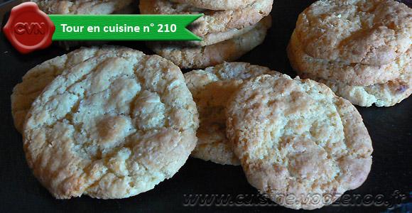 Cookies au chocolat blanc une