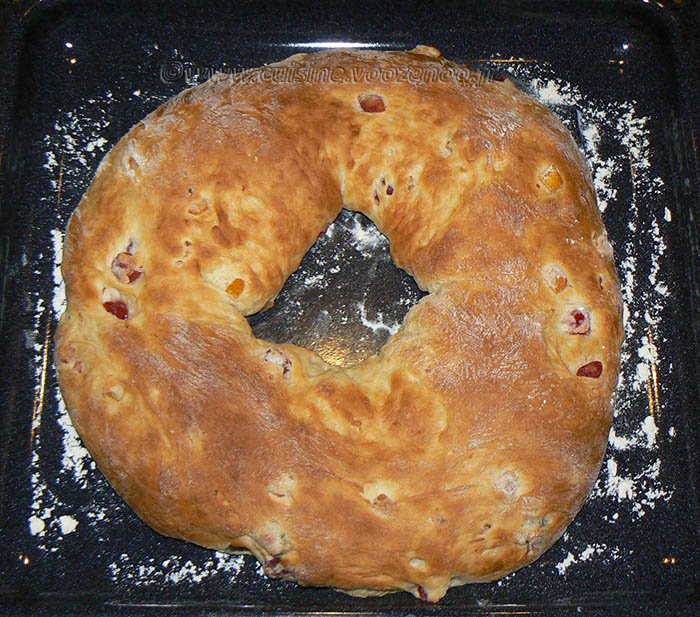 Gâteau des rois provencal etape6