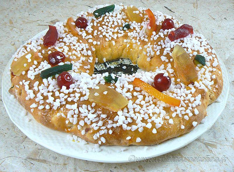 Gâteau des rois provencal presentation1