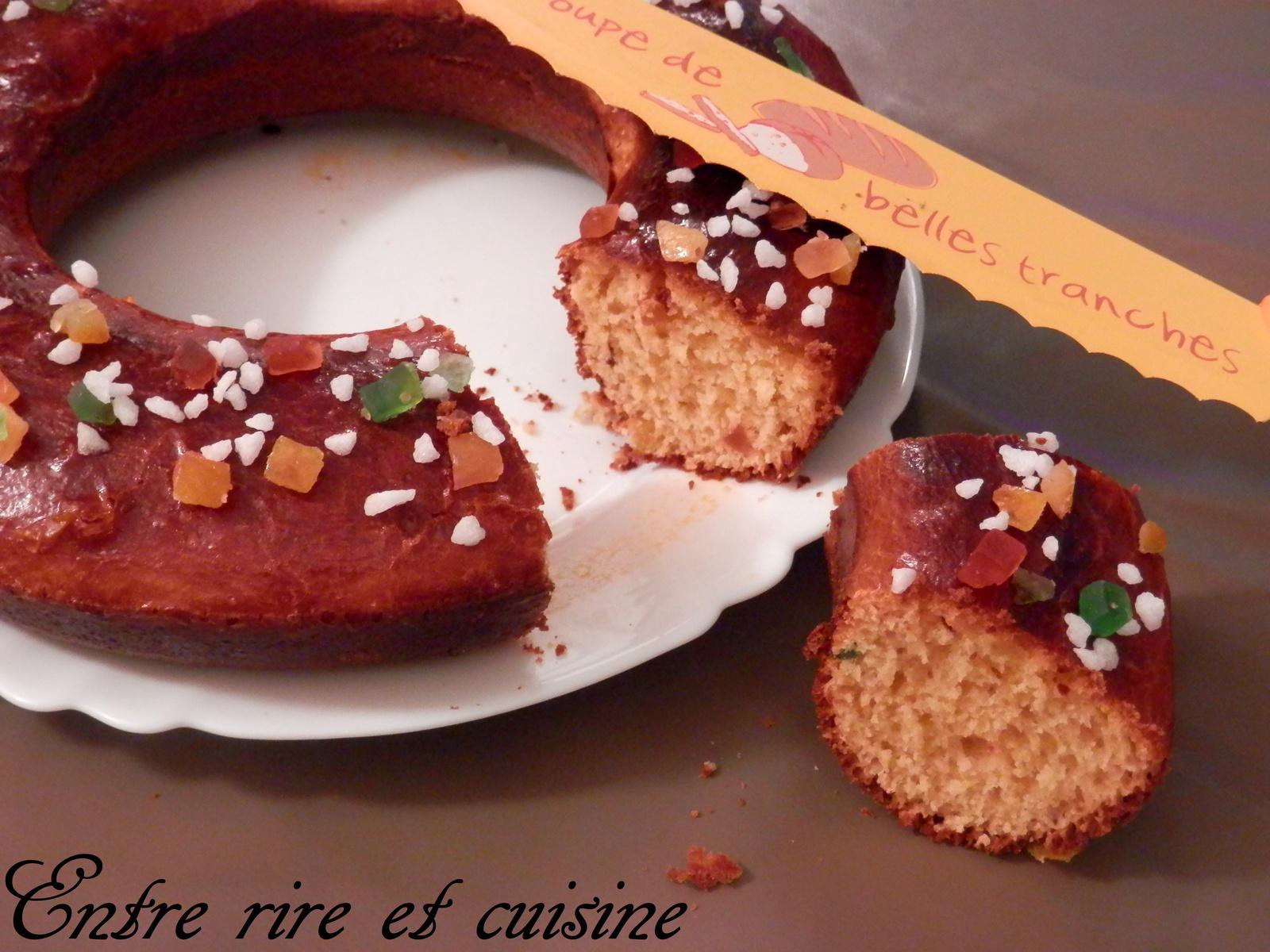 gâteau des rois Chrystel