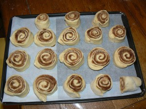 Cinnamon Rolls petits pains à la canelle etape6