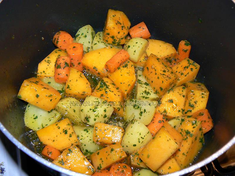 Soupe de courge butternut orangee etape2