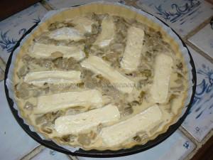 Tarte aux endives et camembert etape2