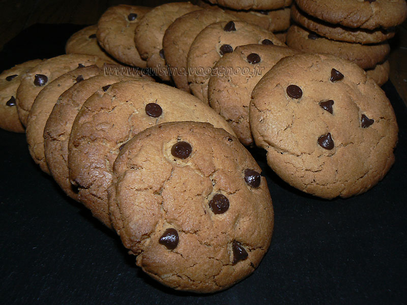Cookies beurre de cacahuetes (Desperate Housewives) presentation