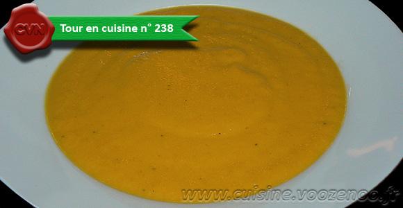 Velouté de carottes oriental