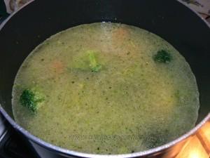 Velouté de brocolis etape2