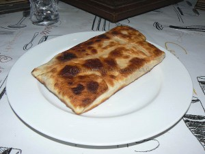 Naans jambon fromage fin