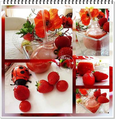 gaspacho fraise