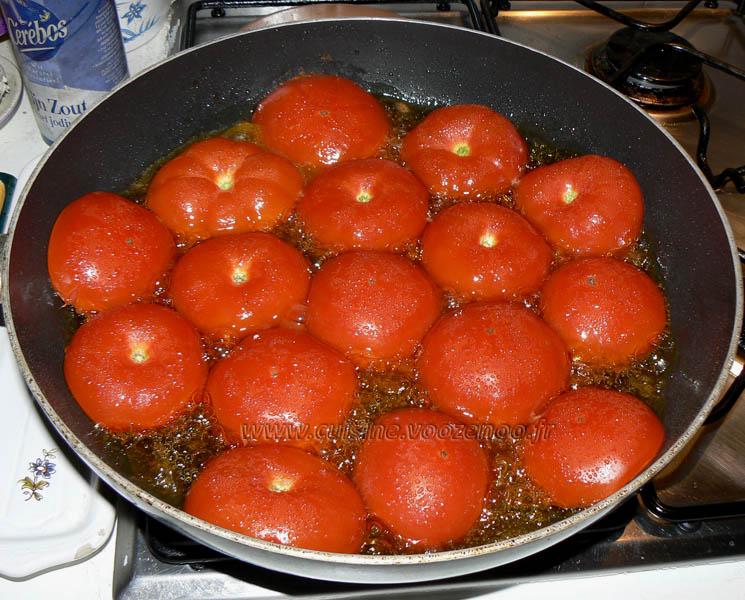 Panisse maison et tomates à la Provençale etape6