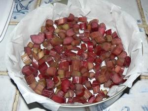 Gâteau magique à la rhubarbe etape3