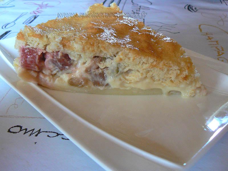 Gâteau magique à la rhubarbe fin3